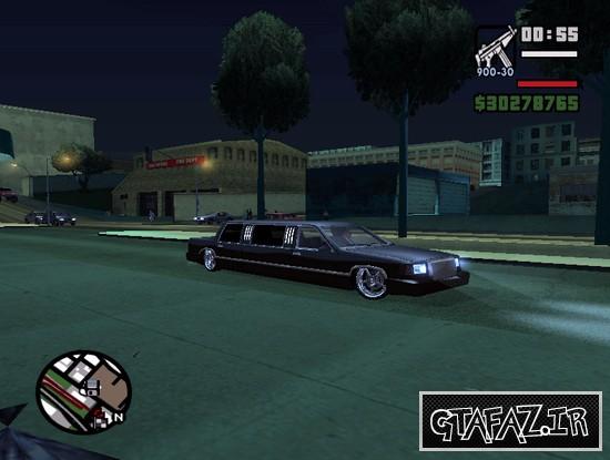 دانلود ماشین stretch برای (GTA 5 (San Andreas